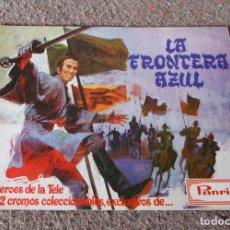 Coleccionismo Álbumes: ALBUM VACIO - LA FRONTERA AZUL - PANRICO - 1978 - EXCELENTE ESTADO. Lote 100934439