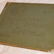 Coleccionismo Álbumes: VINTAGE - ANTIGUO ALBÚM COLECCIONES INFANTILES DE BLANCO Y NEGRO - SOLO FALTA UNO - 1907 - HAZ OFERT. Lote 101020063