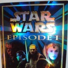 Coleccionismo Álbumes: STAR WARS - EPISODIO UNO PANINI - COMPLETO EXCEPTO LOS CROMOS DE LEGO. Lote 101355715