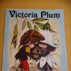 Coleccionismo Álbumes: ÁLBUM DE CROMOS VICTORIA PLUM, INCOMPLETO, ED. FHER, AÑO 1982. ERCOM. Lote 101398943
