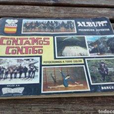 Coleccionismo Álbumes: ÁLBUM CONTAMOS CONTIGO,A FALTA DEL CROMO 160,AÑO 1968.. Lote 101536263