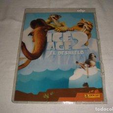 Coleccionismo Álbumes: ÁLBUM DE CROMOS NUEVO Y VACÍO: ICE AGE 2 EL DESHIELO. Lote 101697031