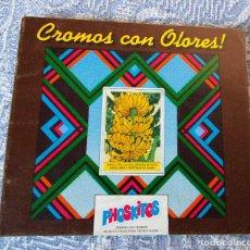 Coleccionismo Álbumes: ÁLBUM VACÍO CROMOS DE OLORES - PHOSKITOS - MUY BUEN ESTADO DE CONSERVACIÓN. Lote 101743963