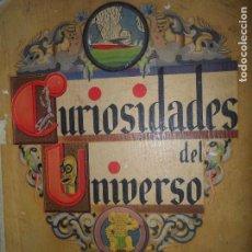 Coleccionismo Álbumes: ALBUM DE CROMOS CURIOSIDADES DEL UNIVERSO, FALTAN 42 CROMOS, INCOMPLETO. Lote 102227839