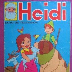 Coleccionismo Álbumes: ALBUM CROMOS HEIDI, FHER, 1975, TIENE 132 CROMOS. Lote 236532970