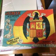 Coleccionismo Álbumes: OLIMAN VACIO PLANCHA. Lote 102810123