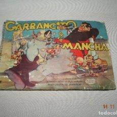 Coleccionismo Álbumes: ALBUM CASI COMPLETO GARBANCITO DE LA MANCHA ED RUIZ ROMERO SOBRE LA PELÍCULA DE BALET Y BLAY 1946. Lote 103493991