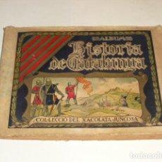 Coleccionismo Álbumes: ALBUM CROMOS HISTORIA DE CATALUNYA - 1930 -. Lote 103700587