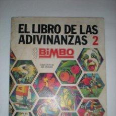 Coleccionismo Álbumes: EL LIBRO DE LAS ADIVINANZAS # 2 (BIMBO). Lote 103848255