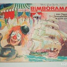 Coleccionismo Álbumes: ALBUM CROMOS BIMBORAMA 1972 EL CIRCO BONY BUCANEROS SELVA TRANSFERIBLES BIMBO CON MUCHOS CROMOS. Lote 104649939