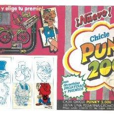 Coleccionismo Álbumes: ALBUM PUNKY 2000 (TIPO HIPPY 2000) CROMOS SALÍAN EN CHICLES. 9 CROMOS DE 42. BUEN ESTADO.. Lote 104716051