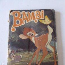 Coleccionismo Álbumes: ALBUM BAMBI. FALTAN 7 CROMOS. FALTAN DEL POSTER CENTRAL 7 PEGATINAS. SUSAETA. Lote 104856747