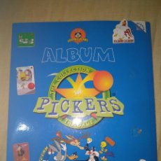 Coleccionismo Álbumes: ALBUM CROMOS PICKERS LOONEY TUNES MAGIC BOX INT COMPLETO SERIE 1. Lote 119922780