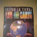 Coleccionismo Álbumes: ALBUM CROMOS SALVAD LA TIERRA LIFE ON EART CASI COMPLETO CROMOSOL ITALY. Lote 105338315