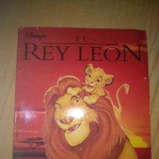 Coleccionismo Álbumes: ALBUM CROMOS EL REY LEON CASI COMPLETO FALTAN SOLO 2 CROMOS PANINI DISNEY. Lote 105338703