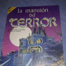 Coleccionismo Álbumes: ANTIGUO ALBUM DE CROMOS LA MANSION DEL TERROR INCOMPLETO TIENE LOS CROMOS QUE SALEN EN LAS FOTOS. Lote 105766632