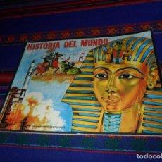 Coleccionismo Álbumes: ÁLBUM HISTORIA DEL MUNDO VACÍO CON CUPÓN. FHER 1968. MUY BUEN ESTADO.. Lote 105913735