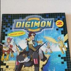 Coleccionismo Álbumes: DIGITAL DIGIMON MONSTERS 2 - ALBUM SIN POSTER - A FALTA DE 43 CROMOS. Lote 107004643