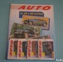Coleccionismo Álbumes: ÁLBUM VACIO + 4 SOBRES DE CROMOS SIN ABRIR DE AUTO DE 100 A 400 KM HORA DE PANINI. Lote 107346239