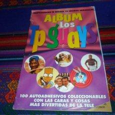 Collezionismo Album: ALBUM LOS TP GUAYS COMPLETO 100 CROMOS. TELEPROGRAMA. AÑOS 90. RARO.. Lote 78306529
