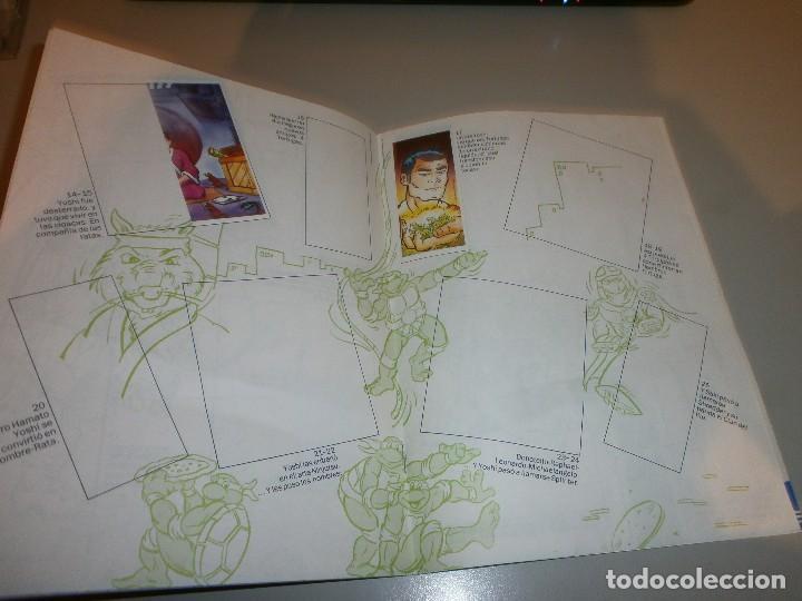 Coleccionismo Álbumes: album tortugas ninja de danone con 4 cromos - Foto 3 - 108386975