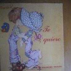 Coleccionismo Álbumes: ALBUM SARAH KAY TE QUIERO CON 33 CROMOS. Lote 108698971