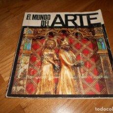 Coleccionismo Álbumes: ALBUM DE CROMOS COMPLETO EL MUNDO DEL ARTE AÑO 1971 NO COMPLETO FALTAN 10 CROMOS. Lote 108847055