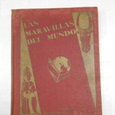 Coleccionismo Álbumes: LAS MARAVILLAS DEL MUNDO. ALBUM DE CROMOS. NESTLE. INCOMPLETO. TDK326. Lote 108867911