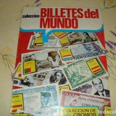 Coleccionismo Álbumes: BILLETES DEL MUNDO FALTAN 5 CROMOS. Lote 108905199