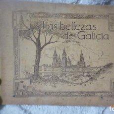Coleccionismo Álbumes: LAS BELLEZAS DE GALICIA - JUAN GIL CAÑELLAS ALBUM GALICIA. Lote 109106787
