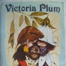 Coleccionismo Álbumes: ALBUM DE CROMOS DE VICTORIA PLUM . EDITORIAL FHER , 1982. Lote 109306351