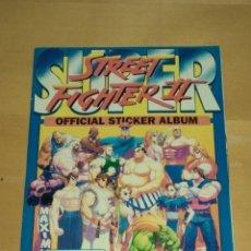 Coleccionismo Álbumes: SUPER STREET FIGHTER II. ALBUM DE CROMOS, CASI COMPLETO. EXCELENTE ESTADO.. Lote 110235127