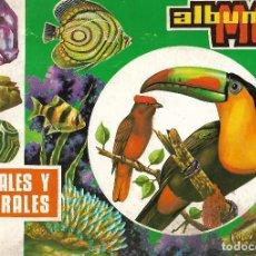 Coleccionismo Álbumes: ANIMALES Y MINERALES. Lote 110378111