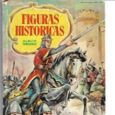 Coleccionismo Álbumes: FIGURAS HISTORICAS TERCERO. Lote 110378355