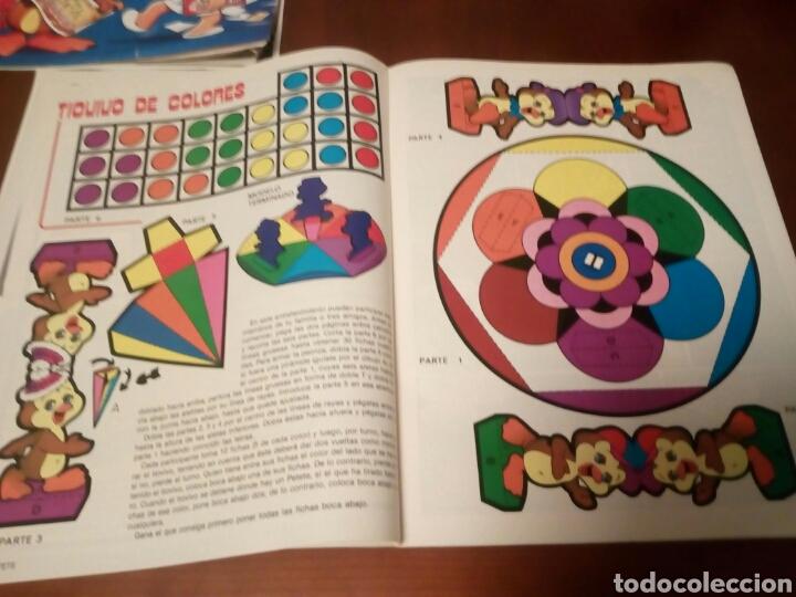 Coleccionismo Álbumes: Petete álbum nuevo con 62 cromos sin pegar+2revistas+pergamino fin de curso - Foto 16 - 110839440