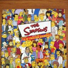Coleccionismo Álbumes: ÁLBUM DE CROMOS THE SIMPSONS LA III COLECCIÓN SPRINGFIELD - PANINI - INCOMPLETO. Lote 111352755
