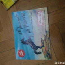 Coleccionismo Álbumes: EL MUNDO DE FURIA PANRICO - CONTIENE 30 CROMOS. Lote 112420767