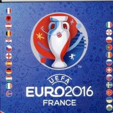 Coleccionismo Álbumes: ALBUM VACIO PLANCHA EURO 2016 FRANCIA. Lote 112779603