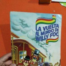 Coleccionismo Álbumes: ALBUM DE CROMOS LA VUELTA AL MUNDO DANONE . Lote 112820923