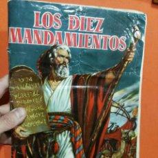Coleccionismo Álbumes: ALBUM DE CROMOS LOS DIEZ MANDAMIENTOS -FALTAN 10 CROMOS DE 210 . Lote 112821207