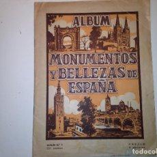Coleccionismo Álbumes: MONUMENTOS Y BELLEZAS DE ESPAÑA. Lote 112921715