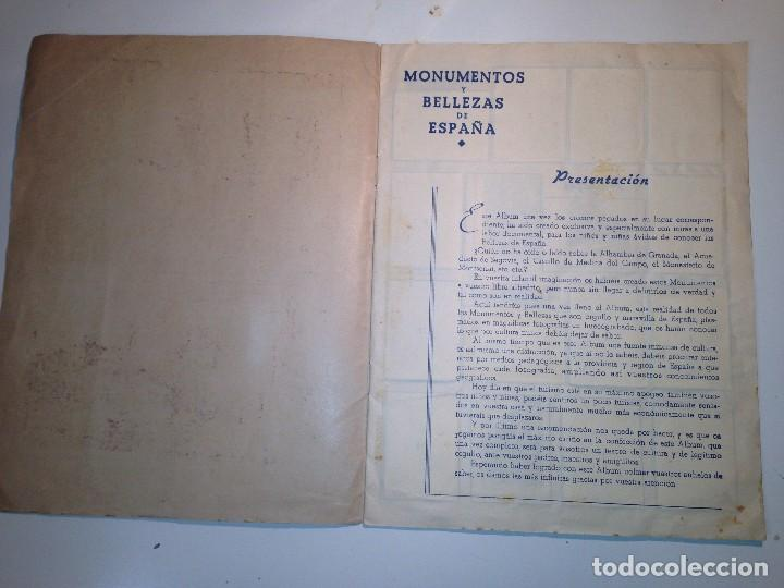 Coleccionismo Álbumes: Monumentos y Bellezas de España - Foto 2 - 112921715