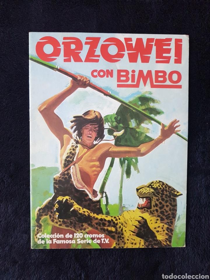ALBUM ORZOWEI.BIMBO. 33 CROMOS. EXCELENTE ESTADO!!! (Coleccionismo - Cromos y Álbumes - Álbumes Incompletos)