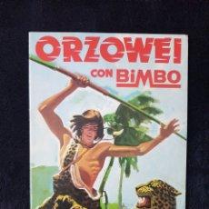 Coleccionismo Álbumes: ALBUM ORZOWEI.BIMBO. Lote 113316487
