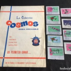 Coleccionismo Álbumes: ÁLBUM COSMOS 1967 MATEO CROMO. Lote 113417351