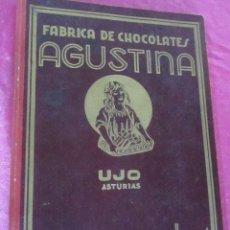 Coleccionismo Álbumes: CHOCOLATES LA AGUSTINA . ALBUM IN COMPLETO FALTAN 3. Lote 113508711