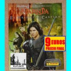 Coleccionismo Álbumes: LAS CRÓNICAS DE NARNIA - EL PRÍNCIPE CASPIAN - STICKER ALBUM PANINI - MUY B. ESTADO. Lote 113655471
