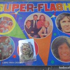 Coleccionismo Álbumes: SUPER-FLASH ALBUM - FALTAN 27 CROMOS DE 162 - EDITORIAL MAGA. Lote 113836715