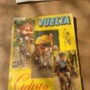 Coleccionismo Álbumes: MUY RARO ALBUM VUELTA CICLISTA ESPAÑA CICLISMO 1959 FALTAN 46 CROMOS. Lote 114523592