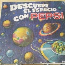 Coleccionismo Álbumes: ALBUM VACIO - DESCUBRE EL ESPACIO CON PEPSI 1976. Lote 138999184